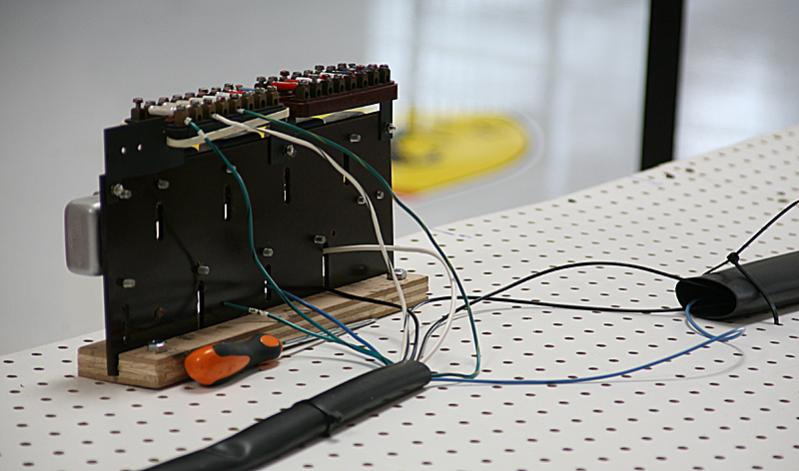 Wiring Harness Rhode Island : Starting to make the wiring harness dino restoration