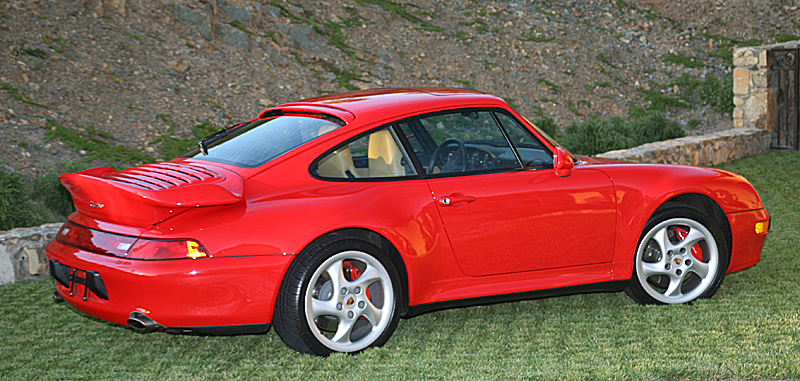Guards red 993 turbo owned by omgjon