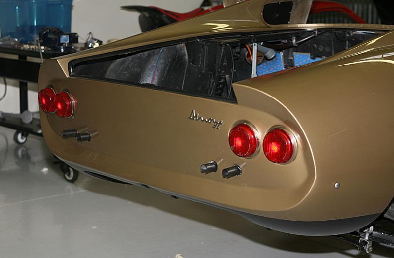 Pininfarina Oro Kelso Dino 246 restoration, Jon Gunderson