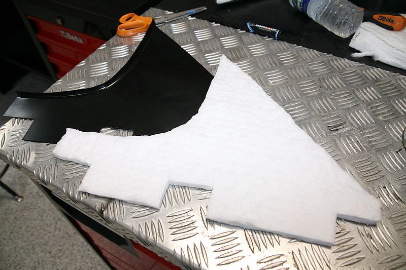 Ceramic heat insulation, Dino restoration