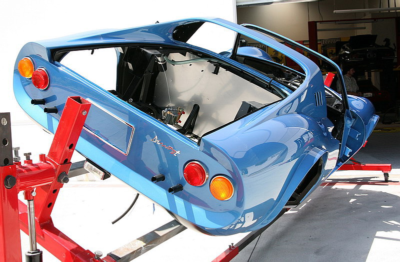 Reassembly of a Dino 246 GTS, Dino restoration, Jon Gunderson
