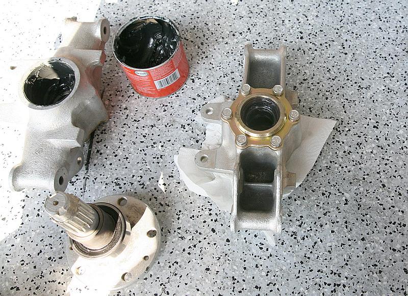 Ferrari dino 246 rear hubs, Dino restoration