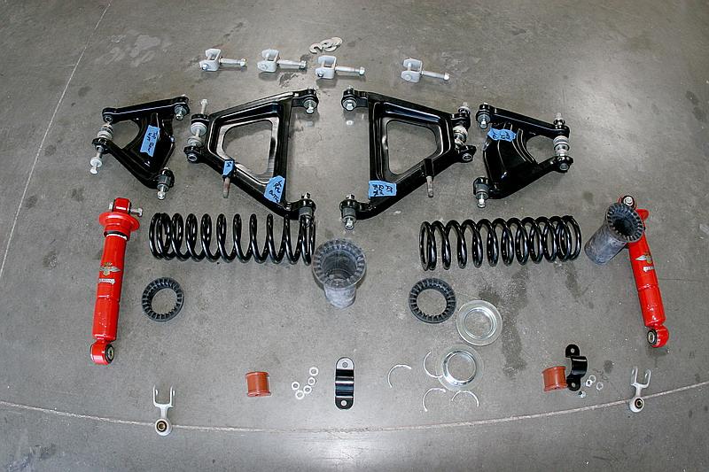 Dino 246 suspension, Dino Restoration, Jon Gunderson