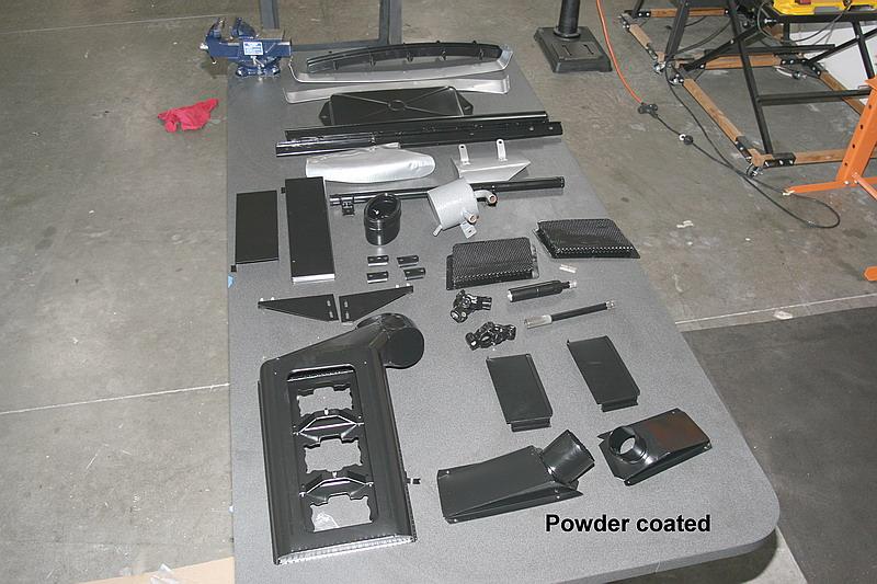 Dino 246 powder coating, Dino restoration, Jon Gunderson