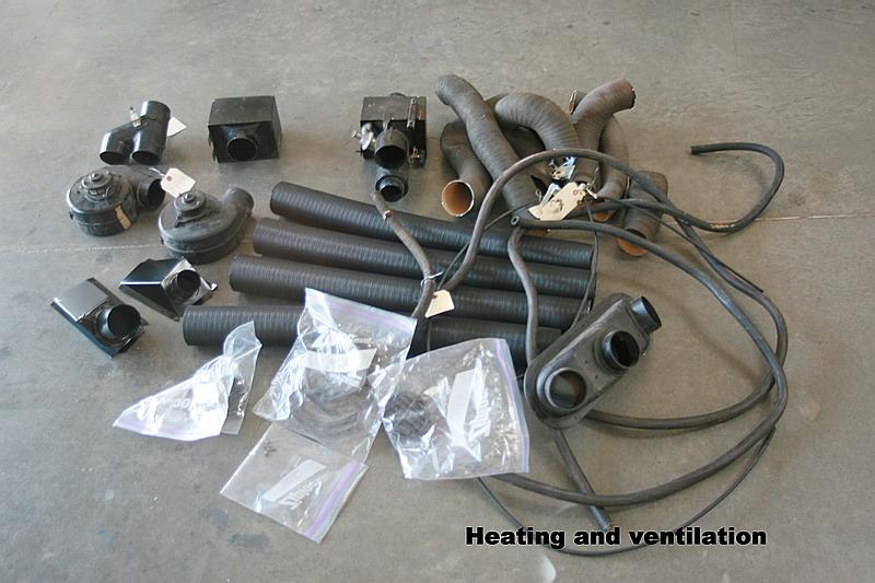 Dino 246 ventilation system, Dino restoration.