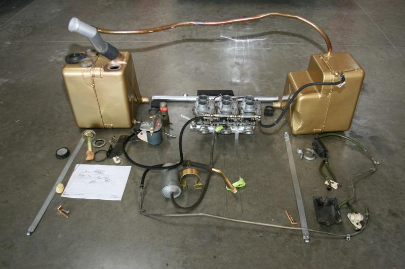 Dino USA fuel system, Dino restoration