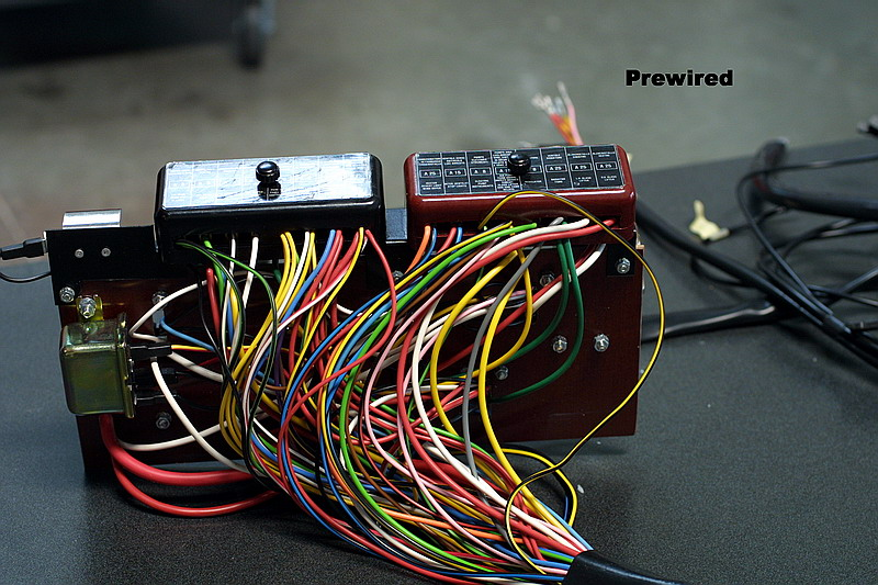 Dino 246 wiring harness, Jon Gunderson