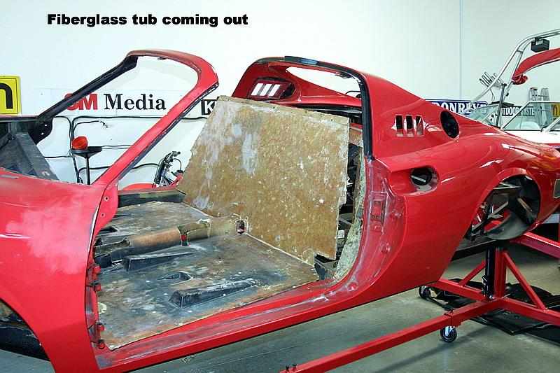 Dino 246 fiberglass, dino restoration