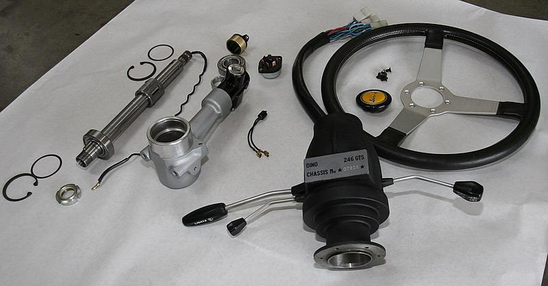 Steering hub dino 246