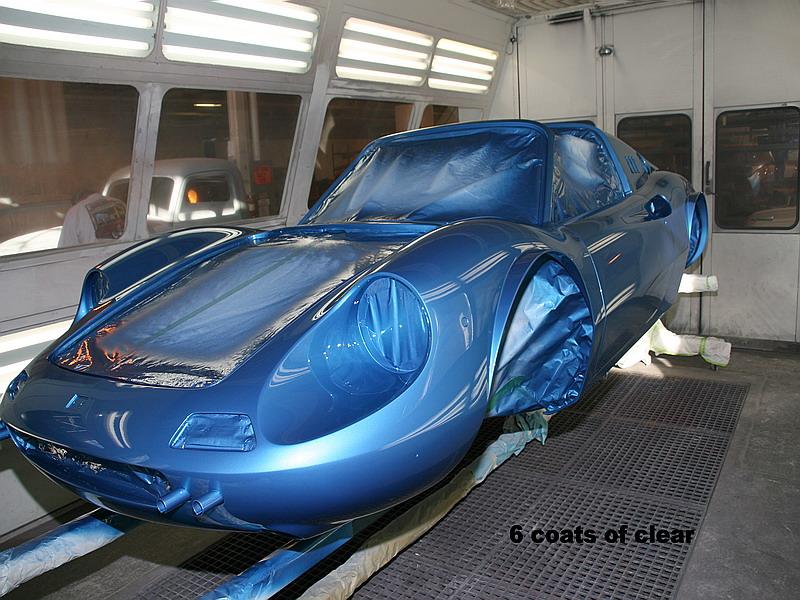 Dino blue metallizzato, 07836, dino restoration