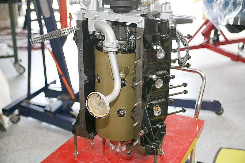 Dino 246 Engine assembly, Dino restoration
