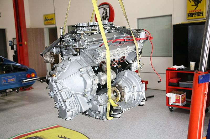 Installing Dino 246 Engine, Dino Restoration, Jon Gunderson