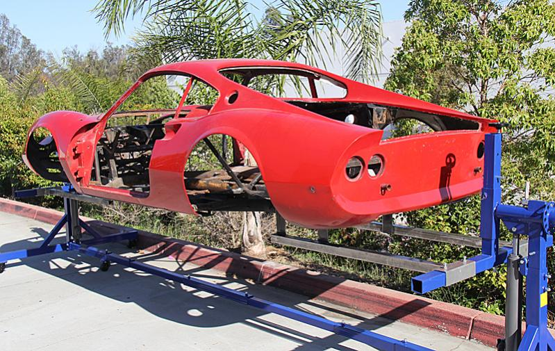 Ferrari Dino 206, Dino restoration, Jon Gunderson