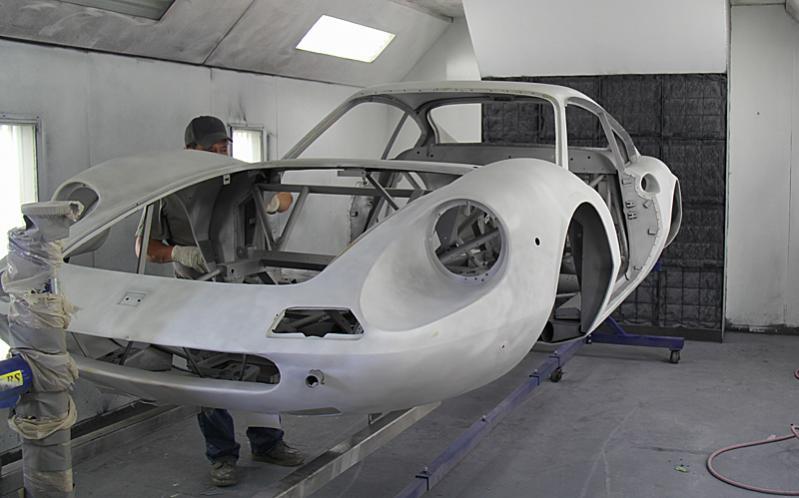 Bare Aluminun Dino 206 #00136, Dino restoration, Jon Gunderson