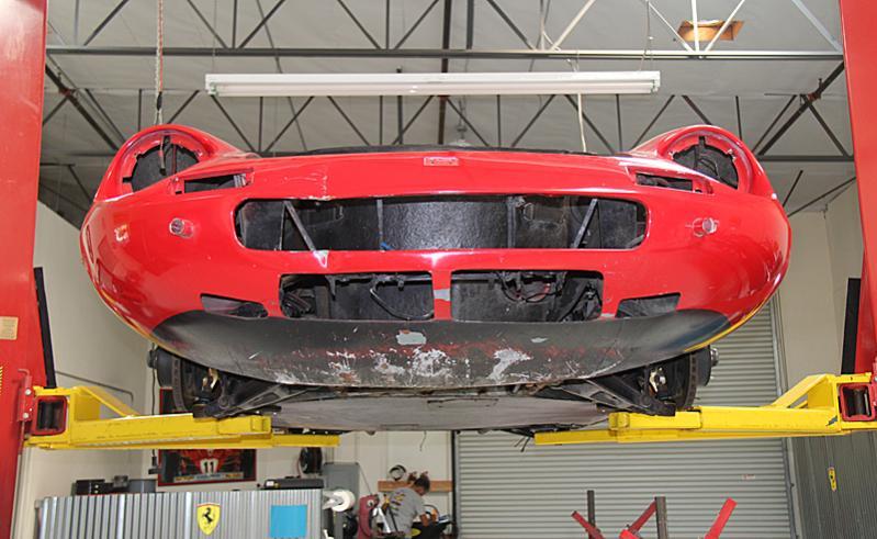 Ferrari Dino Restoration, Jon Gunderson