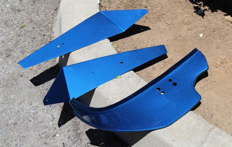 Dino Blue Metallizzato, Dino restoration