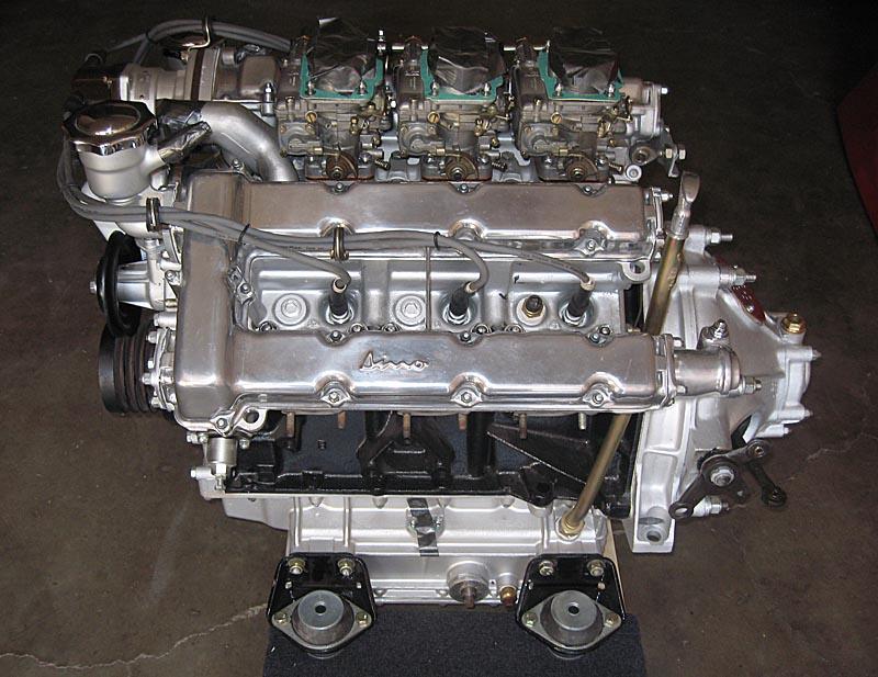 Ferrari Dino 246 motor, Dino Restoration