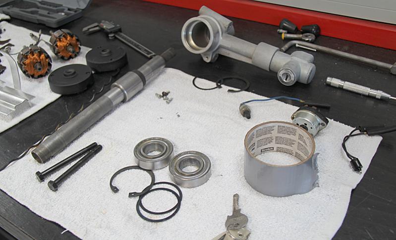 Ferrari Dino 246 Parts refurbishment, Dino Restoration, Jon Gunderson