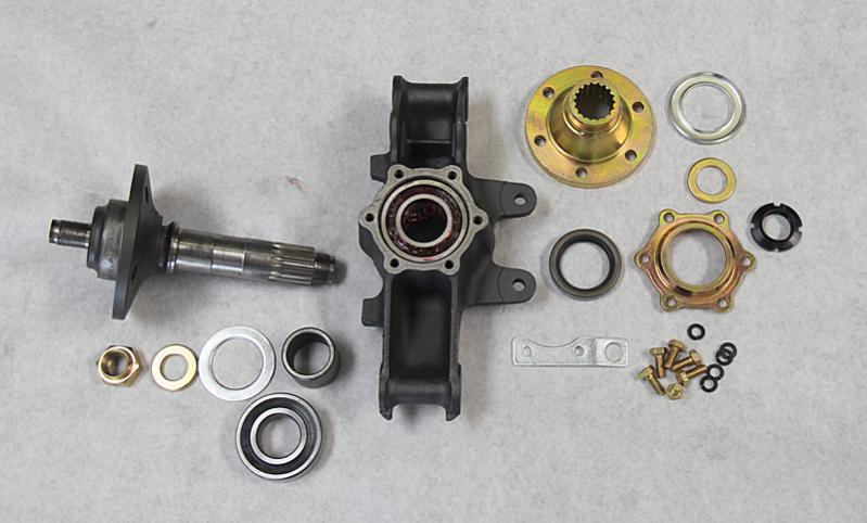 Ferrari Dino 246 Rear Hubs and Front Wheel Bearings, Dino Restoration, Jon Gunderson