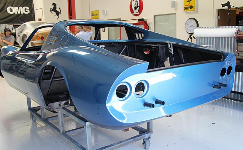 Ferrari Dino 246 GTS ready for reassembly, Dino Restoration, Jon Gunderson
