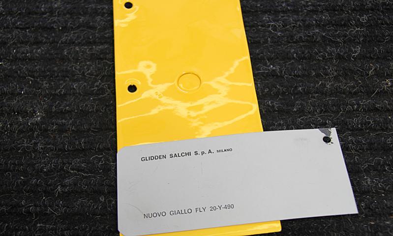 Nuovo Giallo Fly 20-y-490, Dino Restoration, Jon Gunderson