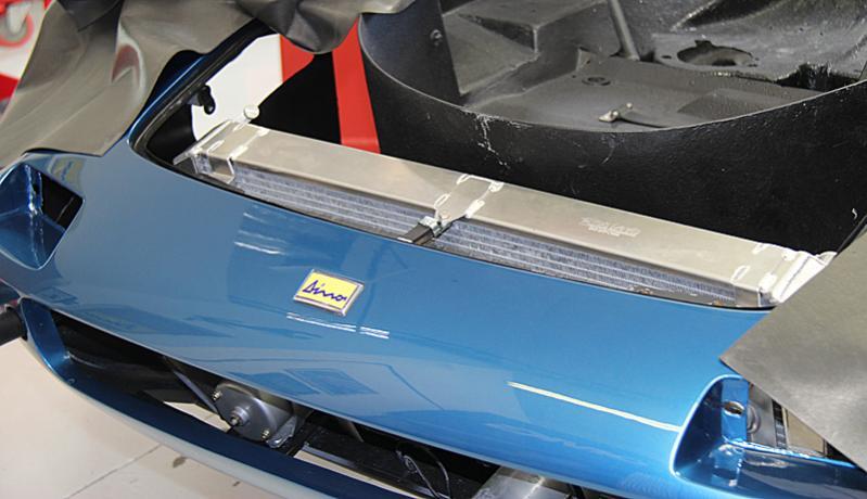 Reassembly of Ferrari Dino #8450, Dino Restoration, Jon Gunderson