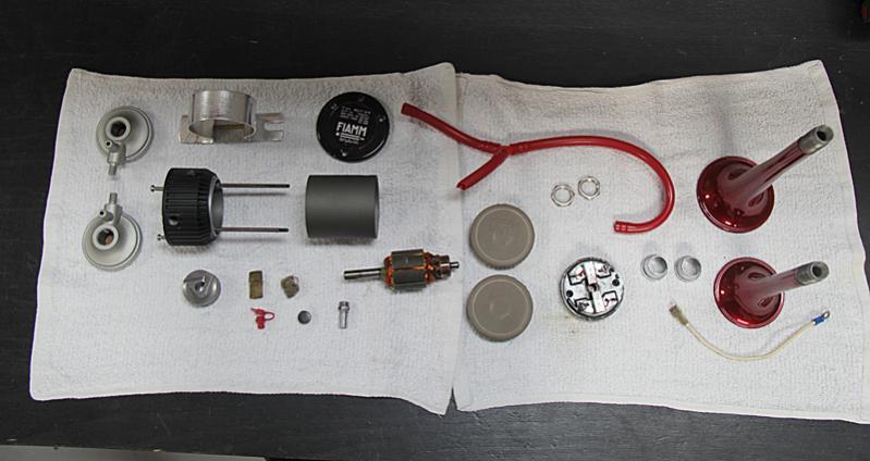 Ferrari Dino 246 Horn Assembly, Dino Restoration, Jon Gunderson
