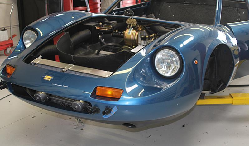 Reassembly Ferrari Dino 08450 Blue Dino Metallizzato, Dino Restoration, Jon Gunderson