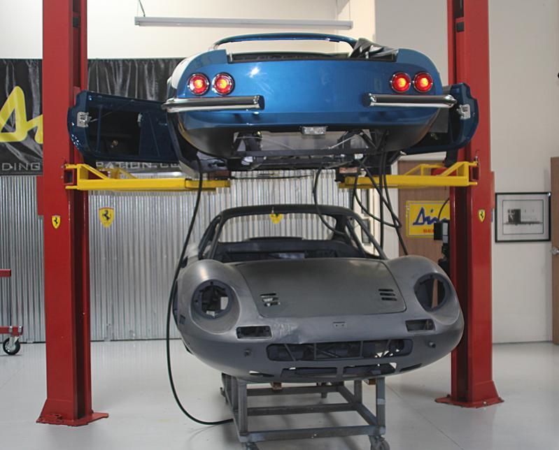 Reassembly of Ferrari Dino 246 GTS 08450, Dino restoration, Jon Gunderson