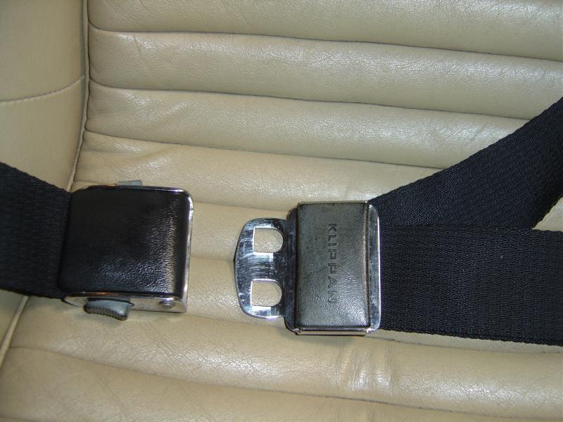 Seatbelt Klippan Non-inertia 517 RP