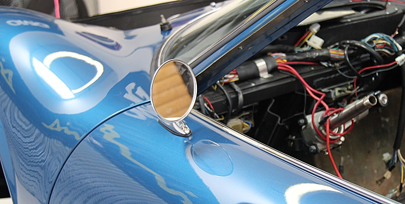 Ferrari Dino Reassembly of Doors, Dino Restoration