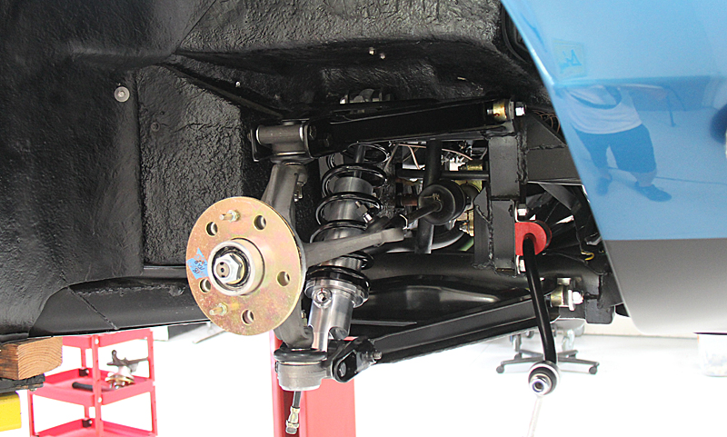 Ferrari Dino 246 Suspension, Dino Restoration, Jon Gunderson