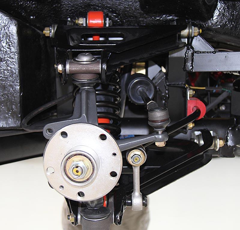 Ferrari Dino 246 brakes and suspension, Dino Restoration, Jon Gunderson