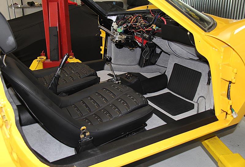 Dino 246 GTS Daytona Seats, Dino Restoration,Jon Gunderson