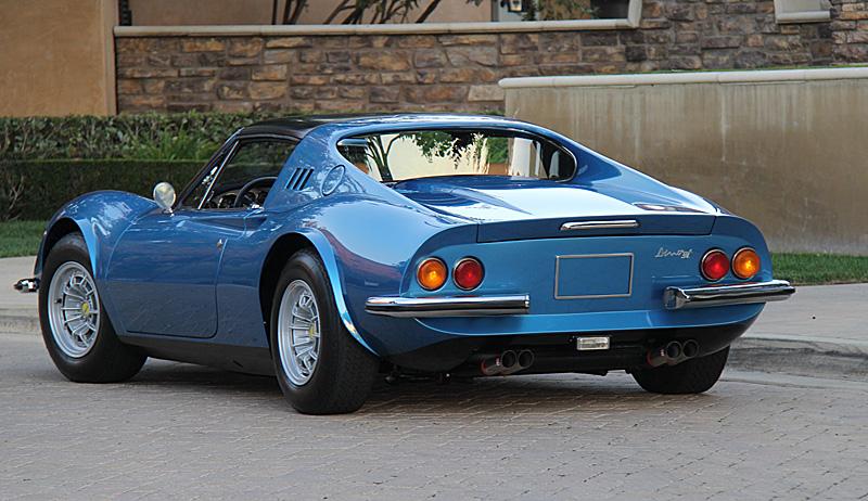 1974 Ferrari Dino 246GTS for sale, Dino Restoration, Jon Gunderson