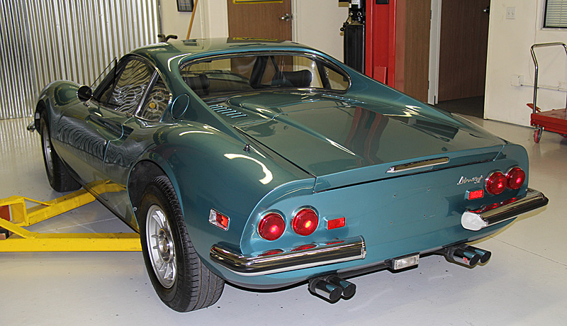 Dino 246 GT for Sale, Dino Restoration, Blue Chiaro Metallizzato