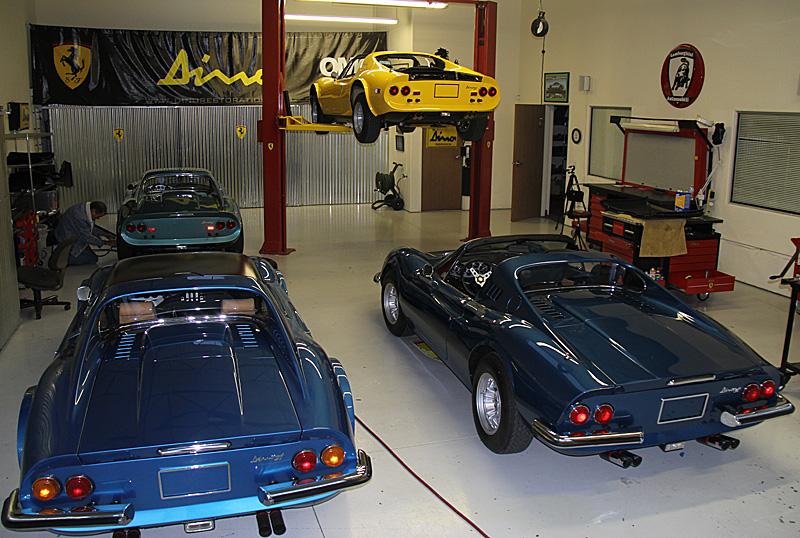 Ferrari Dino 07836 sold, Dino Restoration, Jon Gunderson