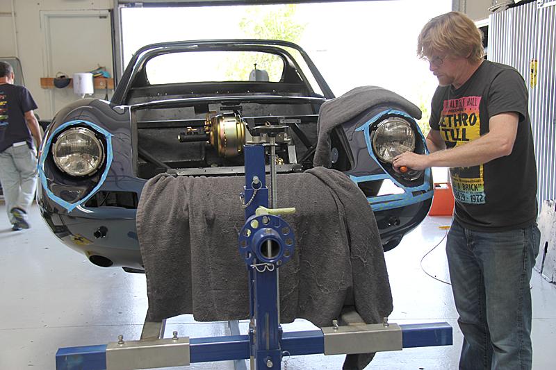 Blue Sera Metallizzato Ferrari Dino, omgjon, Jon Gunderson, Dino restoration.