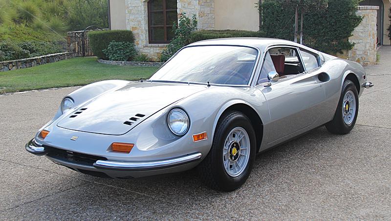 72 Ferrari Dino 246 GT Argento, Dino Restoration, Jon Gunderson, omgjon