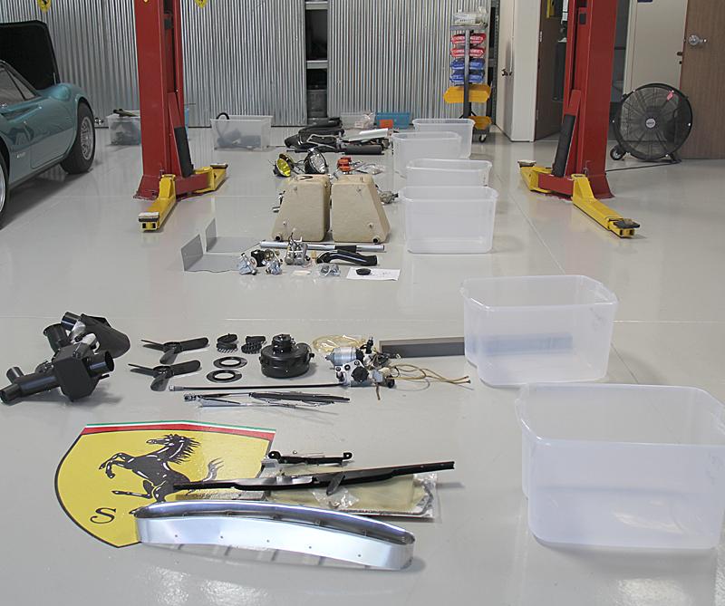 Ferrari Dino 206 GT Brakes and Steering, Dino Restoration, Jon Gunderson, Omgjon