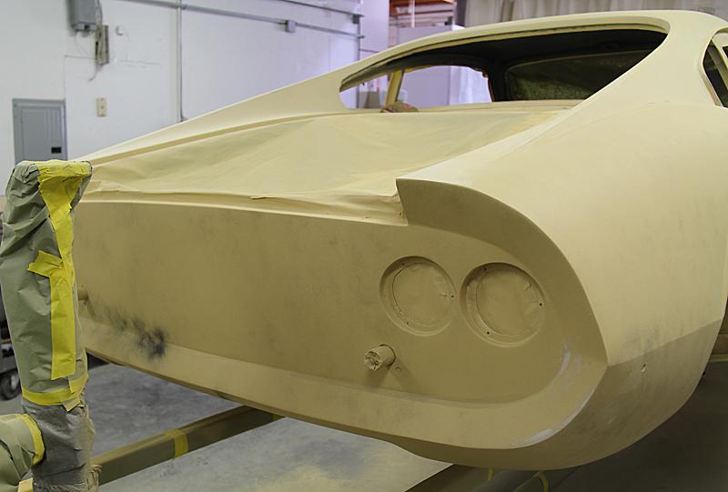 Ferrari Dino Restoration, omgjon