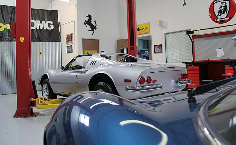 Ferrari Dino 246 Restoration,omgjon