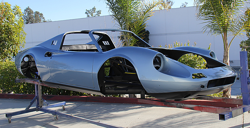 Ferrari Dino 246gts, Dinorestoration, omgjon